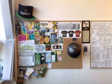 Guinnessácký klobouk